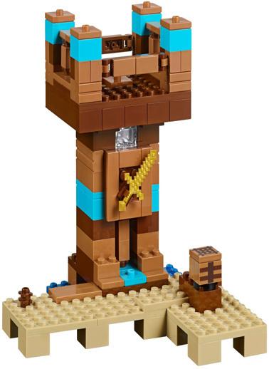 Lego LEGO Minecraft Crafting Box Renkli